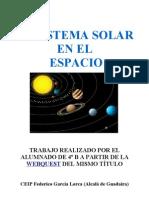 El Sistema Solar en El Espacio
