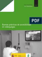 Buenas prácticas de Accesibilidad en Videojuegos