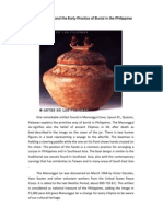 Manunggul Jar and the Early Practice of Burial in the Philippines