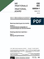 IEC_60034-1-1999 旋转电机定额及性能