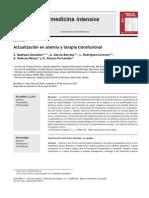Actualizacion en Anemia y Terapia Transfusional Elsiever