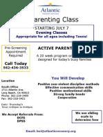 ARS Parenting Flyer