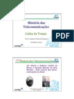 1 - História das Telecomunicações