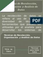 TROA de Datos