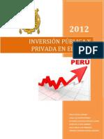 Inversion Publica y Privada