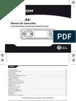Dvd Player Automotivo Com Tela 3 Sp4211 Positron
