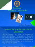 Clase Relacion Medico-Paciente.=)