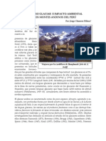 Retroceso Glaciar - Jorge Chancos