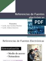 Referencias de Fuentes electrónicas1