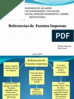Exposición Referencia de Fuentes Impresas  INTRODUCCION-FECHAS-TITULOS