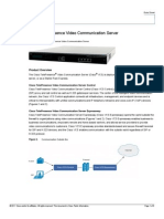 Cisco TelePresence Video Communication Server Product Brochure