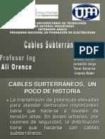 Cables Sub Terraneos