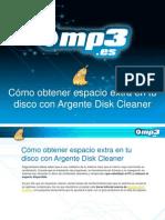 Cómo obtener espacio extra en tu disco con Argente Disk Cleaner