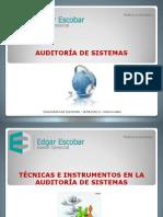 TÉCNICAS E INSTRUMENTOS EN LA AUDITORÍA-1