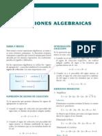 5 EXPRESIONES ALGEBRAICAS