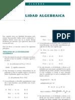 6 DIVISIBILIDAD ALGEBRAICA