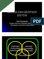 Berfikir Sistem