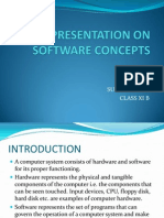 A Presentation on Software Concepts