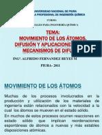 DIFUSION Y MECANISMOS DE DIFUSIÓN