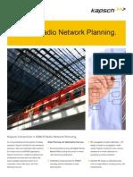 Datasheet_GSM-R Radio Network Planning