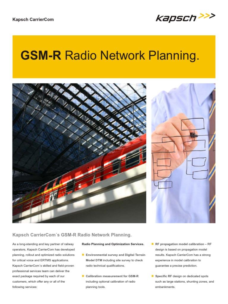 Datasheet_GSM-R Radio Network Planning | Verification And