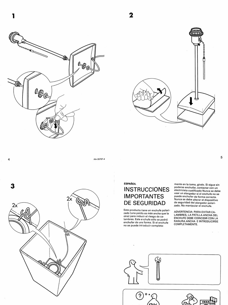 IKEA Orgel Desk Lamp Manual