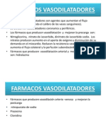 Diapositivas de Medicamentos Vasodilatadores