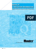 Tech Handbook of Technical Irrigation Information