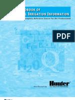 Tech Handbook of Technical Irrigation Information