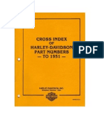 (Factory HD 1903-1951 Part Numbers Cross Reference Manual