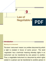 3rd Law of Negotiable Instruments