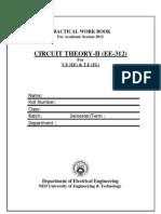 Ee-312 Circuit Theory II _2012