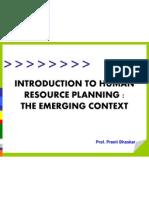 UNIT 2- Human Resource Planning
