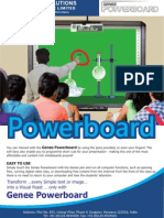 Interactive Whiteboard (Genee_Powerboard)