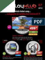 Leták Playklub 7/2012
