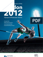 London 2012 Olympic Games Economic Impact Report