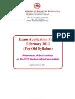 ExamForm Feb 2012(Old)
