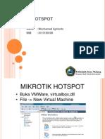Mikrotik Hotspot