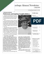 Winnebago Alumni Newsletter Fall 2009
