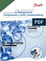 Danfoss PriceList 2012