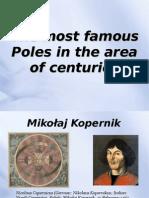 Prezentacja-Najsłynniejsi Polacy na przestrzeni wieków