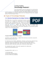 Introduction to Knowledge Modules