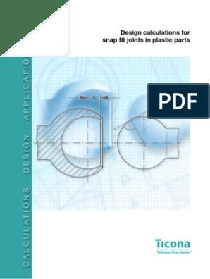 Design for Snapfit Revi-10 | Strength Of Materials
