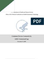 CommonDeviceConnectivityHealthcare