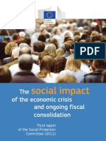 The Social Impact of the Economic Crisis and Ongoing Fiscal Consolidation - Third Report of the Social Protection Committee 2011