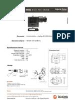 Conector 11mm DIN 43650 Norma Industrial Icos