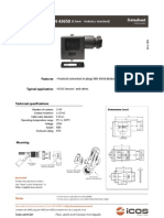 Connector 11mm DIN 43650 Industry Standard Icos