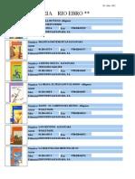 Catálogo alfaguara julio 2012