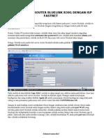 Cara Setting Router Bluelink Bl-r30g Dengan Firstnet