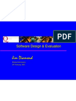 Software Evaluation